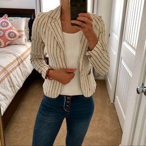 Zara linen blazer size 4